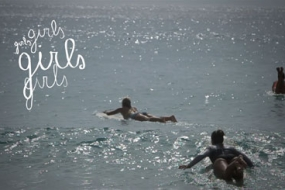 Ritratti di Surf Girls Girls Girls